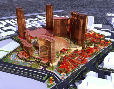 Genting Group Introduces Resorts World Las Vegas.  Courtesy of Steelman Partners.  (PRNewsFoto/Genting Group)