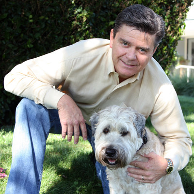 Chief Executive Officer for Worldwise, Inc. Kevin Fick and his dog Coco