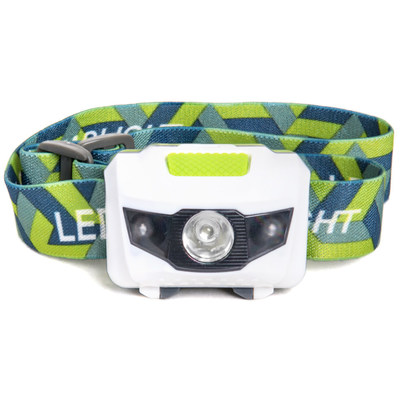 LED Headlamp - Great for Camping, Hiking, Dog Walking, and Kids.