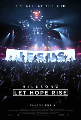 "TBN will provide exclusive live coverage from the Red Carpet premiere of the new theatrical worship experience ""Hillsong -- Let Hope Rise,"" Tuesday September 13th, beginning at 5 p.m. Pacific (7 p.m. Central, 8 p.m. Eastern)."