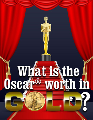What is the Oscar Worth in Gold?.  (PRNewsFoto/Lear Capital)