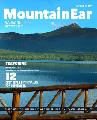 Prototype Cover For MountainEar Magazine.  (PRNewsFoto/Salmon Press Newspapers)