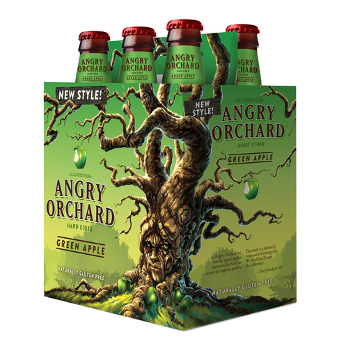 Angry Orchard Cider Company Launches Green Apple Hard Cider Nationwide.  (PRNewsFoto/Angry Orchard)