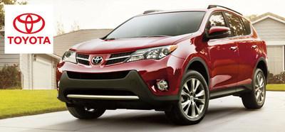 Truro Toyota looks forward to adding the 2015 Toyota RAV4 and Corolla to its inventory. (PRNewsFoto/Truro Toyota)