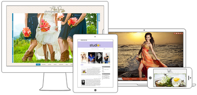 La Rambla Content Site, Tamarindo Beach, Waikiki, and Chesapeake Bay HTML5 Portfolio Sites.  (PRNewsFoto/PhotoBiz)