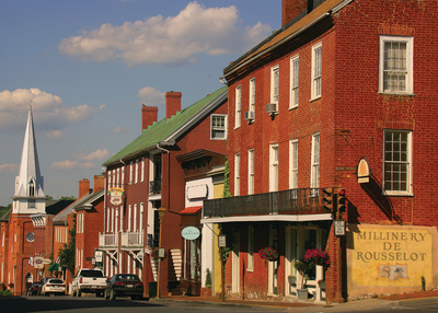 Main Street in historic downtown Lexington, Virginia (PRNewsFoto/)