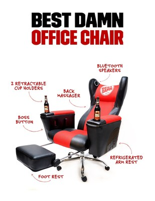 The Best Damn Office Chair premieres at Best Damn Brewing Co.'s Bill-Bar event