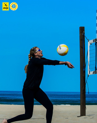Two-time Olympic gold medalist Kerri Walsh will compete at the DO AC Pro Beach Volleyball Invitational in Atlantic City in September. Photo credit: Eric Williams.  (PRNewsFoto/Atlantic City Alliance)