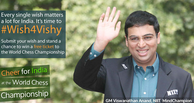 #Wish4Vishy (PRNewsFoto/NIIT LTD.)