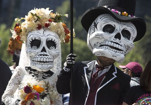 Day of the Dead Parade, Mexico City, 29 October 2016 (PRNewsFoto/Mexico Tourism Board)