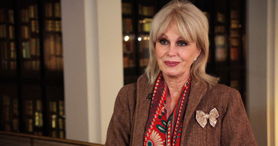 Actress Joanna Lumley.  (PRNewsFoto/London & Partners)