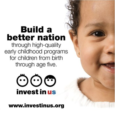 Early childhood education is a top national priority.  Join us in taking the #investinus pledge.