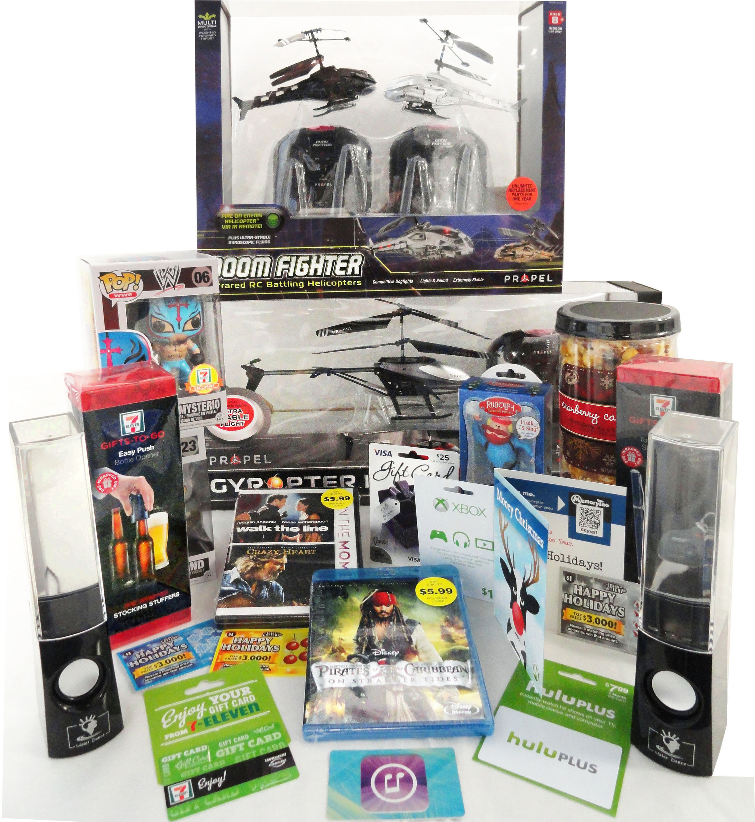 For last-minute holiday shoppers, 7-Eleven stores offer popular and exclusive gifts ranging from remote control  ...