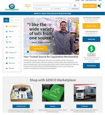 GENCO Marketplace recently re-launched their flagship business-to-business website.