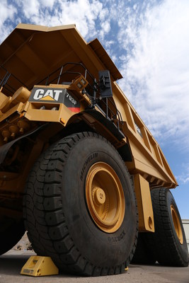 MICHELIN(R) XDR250 provides extra load capacity for 250-ton dumpers used in open pit mines