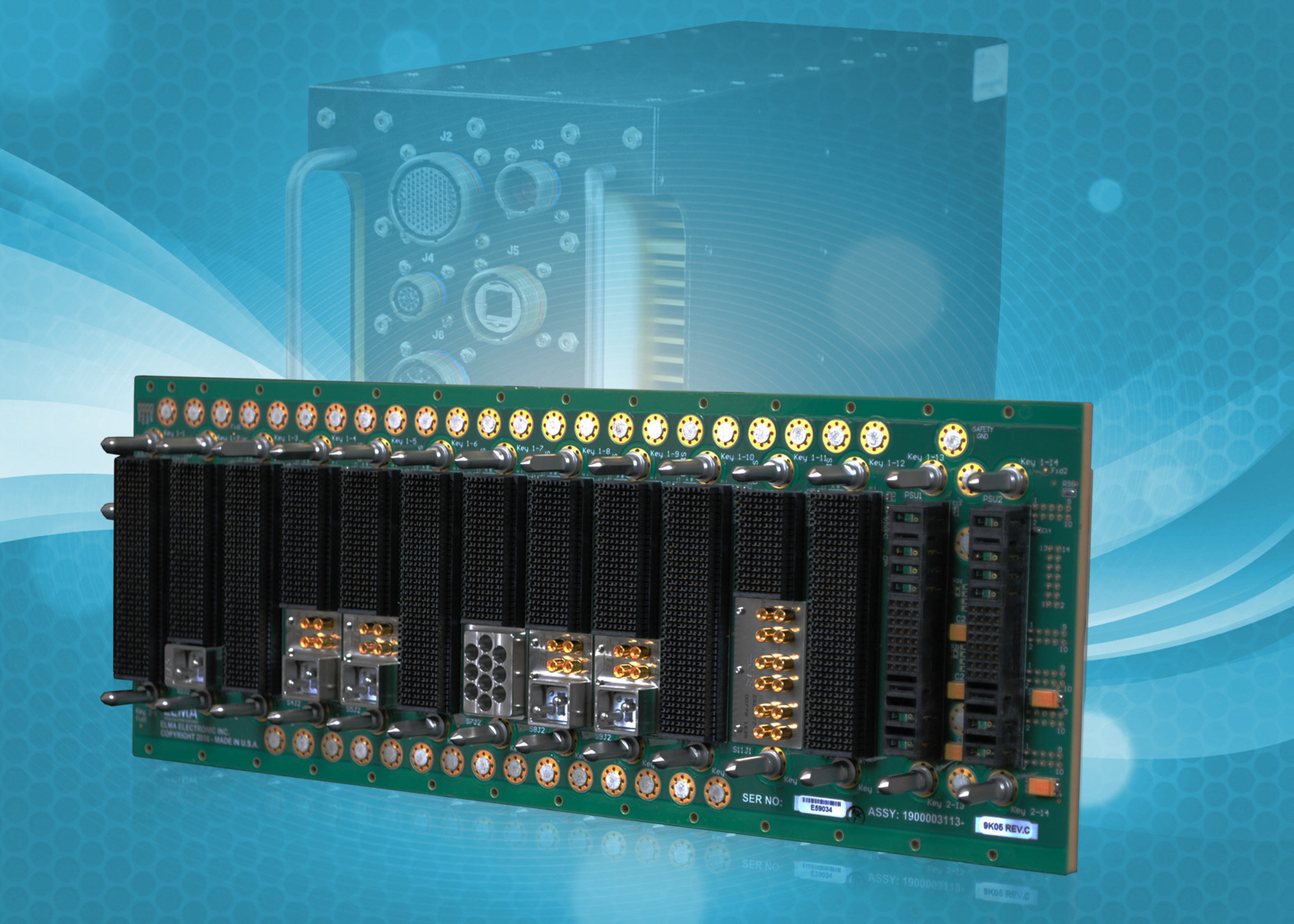 All-New VPX Backplane from Elma Supports C4ISR/EW Modular Open Suite of Standards (CMOSS)