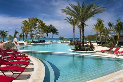 The beachside Seafire Pool, Courtesy of Kimpton Seafire Resort + Spa