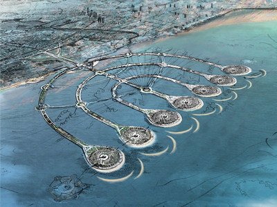 The Menorah Islands Project: 9 Artificial Islands Aim to Bring Real Change to the Coast of Israel