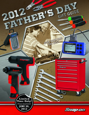Snap-on Father's Day Gift Guide Offers Popular Tools at Special Prices.  (PRNewsFoto/Snap-on Tools)