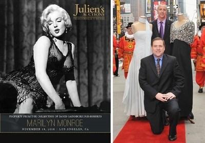 Julien's Auctions Founder & CEO Darren Julien and Executive Director Martin Nolan.