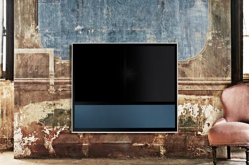 Bang & Olufsen's new BeoVision 11 flagship TV.  (PRNewsFoto/Bang & Olufsen)