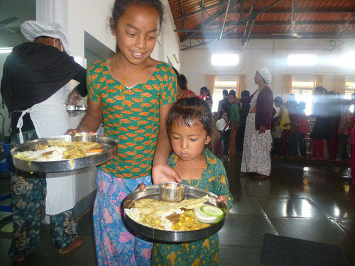 The Prem Rawat Foundation (TPRF) Food for People Program Celebrates Fifth Anniversary in Nepal (PRNewsFoto/The ...