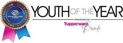 Boys & Girls Clubs of America Youth of the Year Sponsored by Tupperware Brands.  (PRNewsFoto/Boys & Girls Clubs of America)