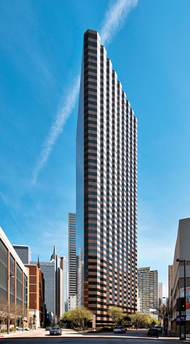 Dallas' Ross Tower. (PRNewsFoto/The Lionstone Group) (PRNewsFoto/THE LIONSTONE GROUP)