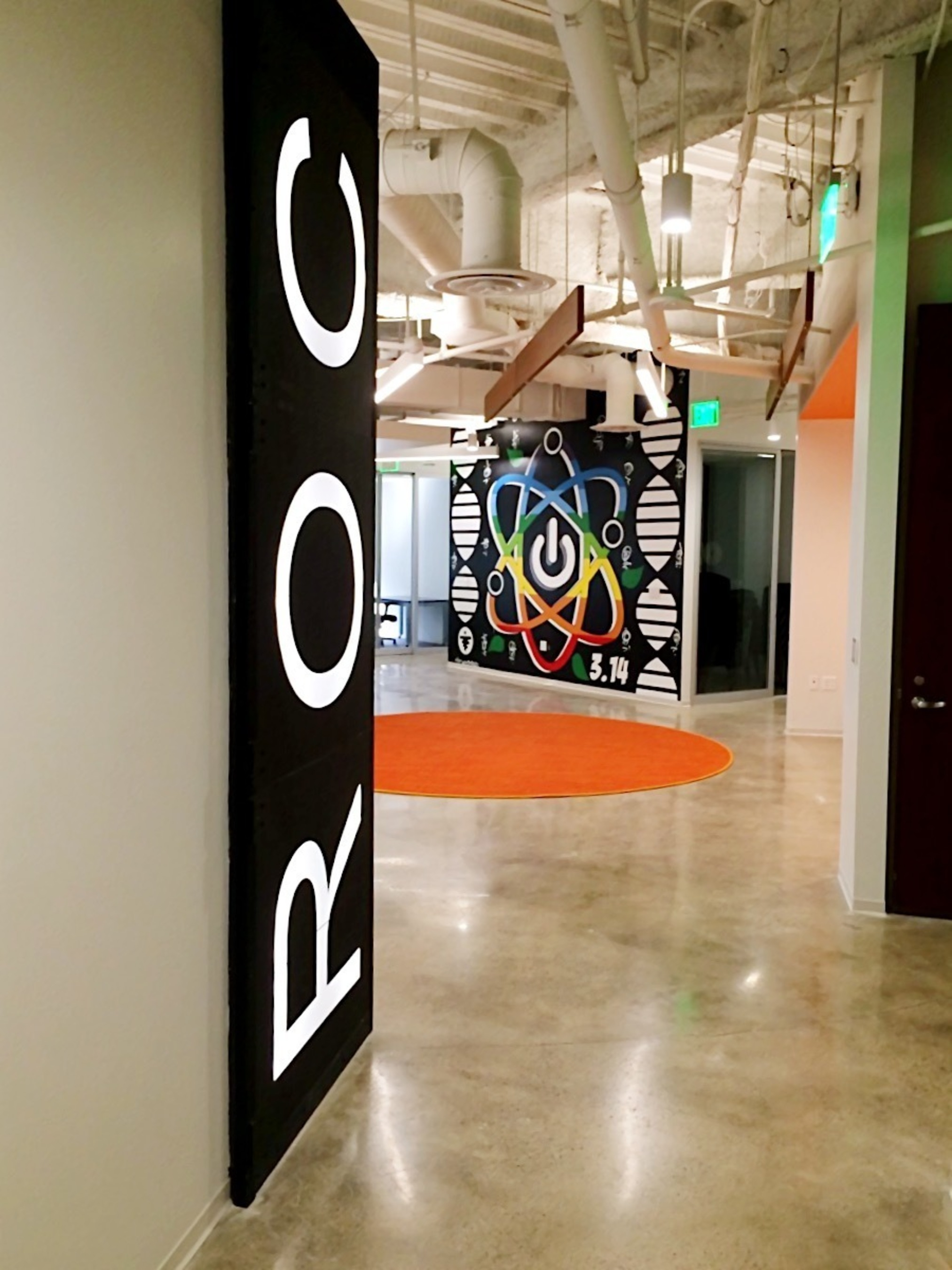 ROC's newest collaborative workspace in downtown San Diego for technology startups (located at 101 Broadway, San Diego CA 92101).