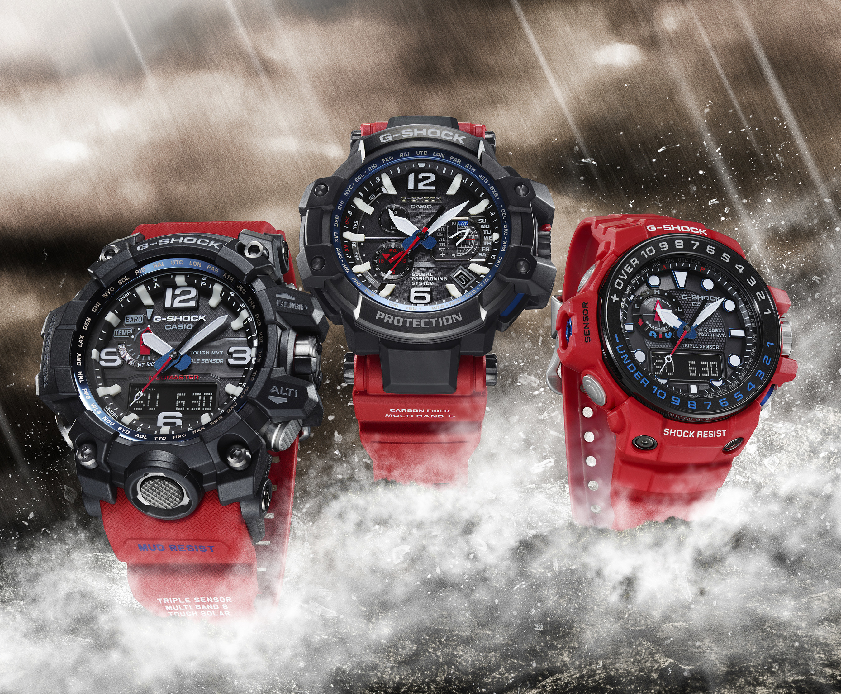 Casio G-SHOCK Broadens Master of G Line 38ebf64ea