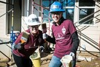 Transamerica employees volunteer with Habitat for Humanity to help build or repair homes.