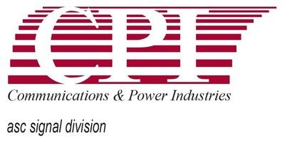 CPI ASC Signal Division logo (PRNewsFoto/CPI International Holding Corp.)