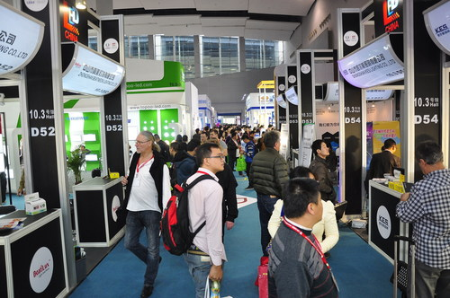 Showfloor of LED CHINA 2014 (PRNewsFoto/UBM Trust)