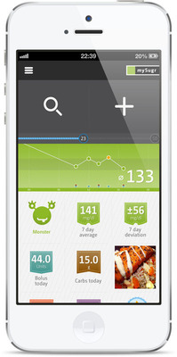 mySugr developed the Companion app to provide motivation and positive feedback as users track their vital statistics.  (PRNewsFoto/mySugr)