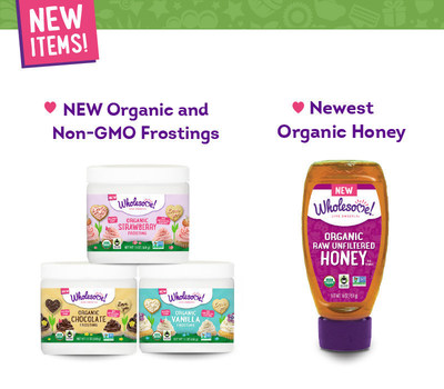 Wholesome!, the largest supplier of Fair Trade, Organic and Non-GMO sugars, syrups, stevia, molasses and honey in North America, travels to this year's Natural Products Expo West (Booth #2924) with news of new products, line expansions and sustainable packaging advances. Visitors will sample the company's first-ever line of Organic and Non-GMO Frostings, as well as a new Organic Raw Unfiltered Honey. The Frostings will be available in Chocolate, Vanilla and Strawberry flavors and will begin shipping nationwide in Summer 2016. The Organic Raw Unfiltered Honey will be available in Spring 2016.
