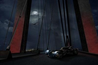 Batmobile Cross-Continental Ride 1 (PRNewsFoto/Turkish Airlines)