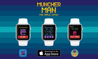 MuncherMan Debuts For Apple Watch