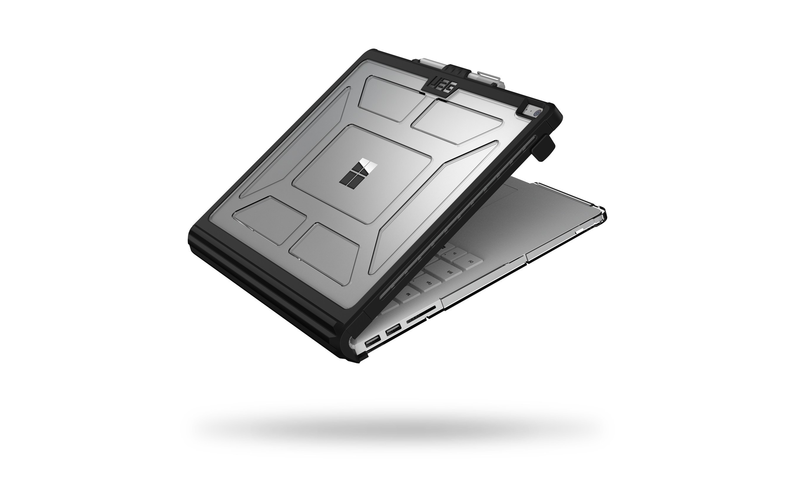 UAG Introduces Rugged Mil-Spec Case for Microsoft Surface BookDrop-Tested Protection for the Multi-use Surface Book