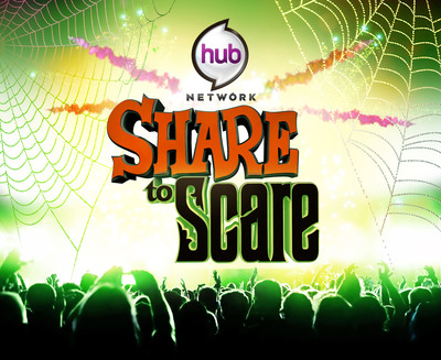 """""""Share to Scare"""": A Halloween Charity Initiative with Goodwill and the Hub Network.  (PRNewsFoto/The Hub Network)"""