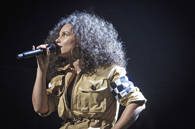 """Alicia Keys in """"Landmarks Live in Concert: A Great Performances Special"""""""