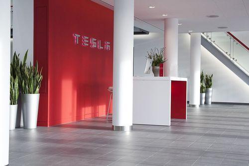 Tesla Zuid-Oost Entrance (PRNewsFoto/Tesla Motors Inc)