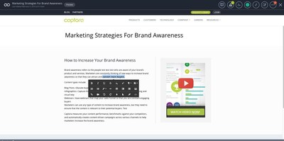Create campaigns seamlessly across channels using inline visual editing, keyboard shortcuts, and CTA pickers.
