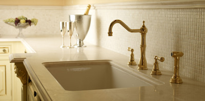 The Perrin & Rowe(R) portfolio of products is core to the ROHL portfolio. Headquartered in Irvine, California, ROHL has helped thoughtful homeowners and designers create personal expressions of authentic product for over 30 years. Each Perrin & Rowe(R) product has been hand crafted using an unsurpassed and unique blend of engineering excellence, exquisite detailing and state-of-the-art technology -- our reward, Perrin & Rowe(R) is specified and installed in the most stunning hotels, spa resorts and private residences around the world. (PRNewsFoto/ROHL) (PRNewsFoto/ROHL)