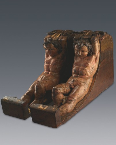 Hitherto unknown pair of sculptures by Michelangelo Buonarroti presented to the world. (PRNewsFoto/Art Research  ...