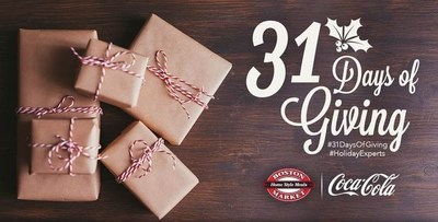 "Boston Market Launches ""31 Days Of Giving"" Online To Celebrate Its 31st Anniversary"