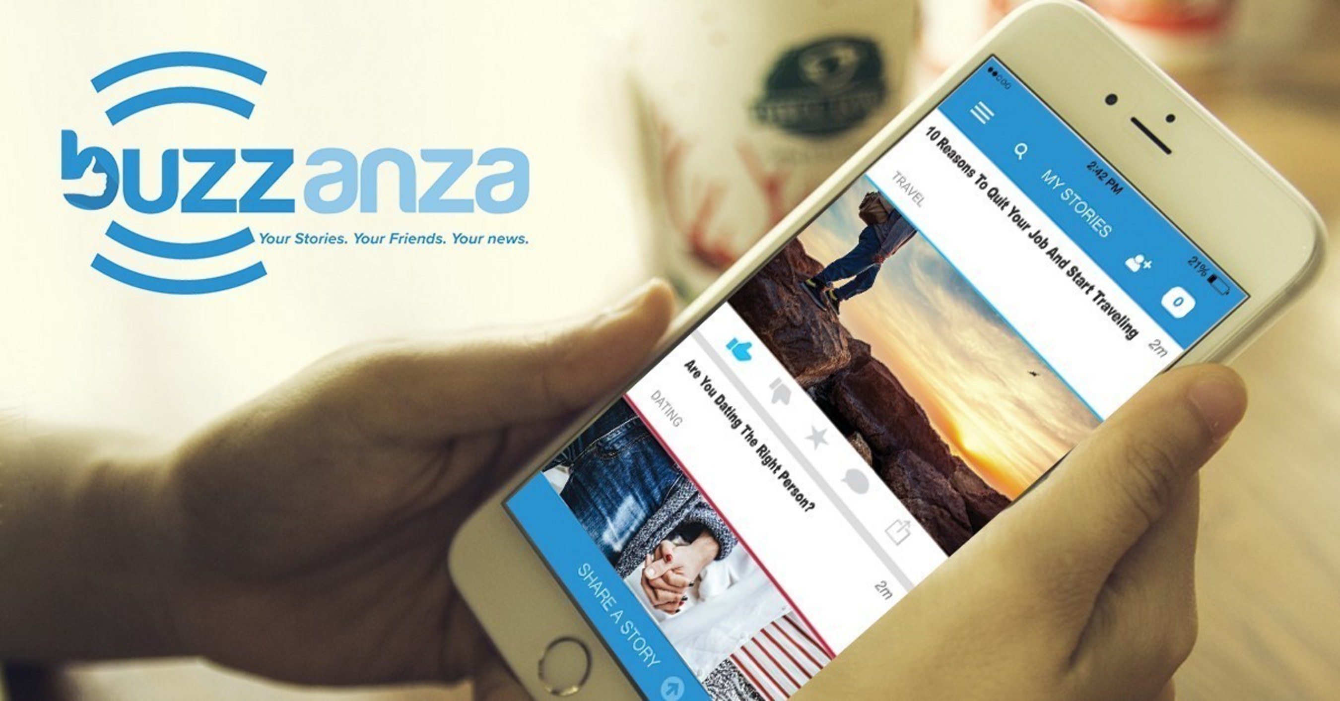 Buzzanza - A New Social Networking Platform - Transforms Content Discovery And Sharing For Millennials