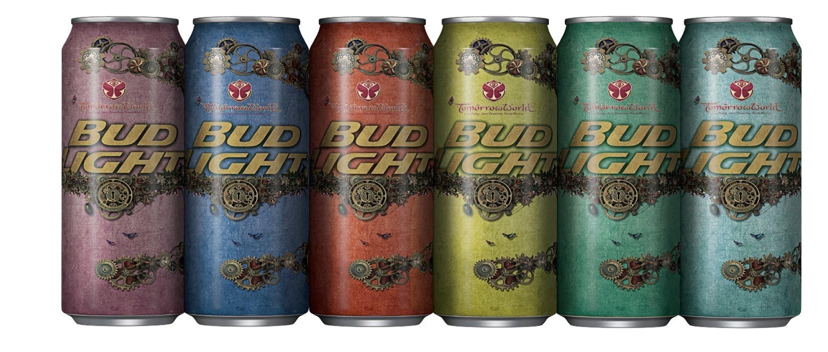 Bud Light Announces New TomorrowWorld Partnership, Limited Edition Festival Cans
