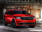 Dodge introduces the popular Blacktop Appearance Package on award-winning Durango three-row SUV for 2014. (PRNewsFoto/Chrysler Group LLC)