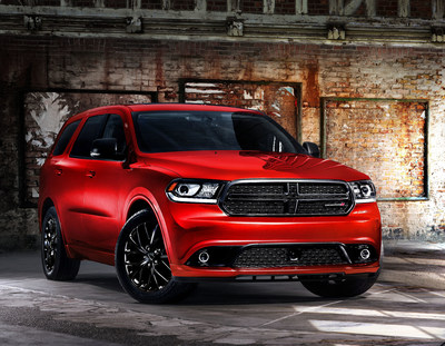 Dodge introduces the popular Blacktop Appearance Package on award-winning Durango three-row SUV for 2014.