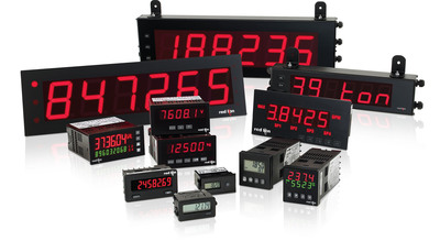 Control Design readers select Red Lion for its industry-leading panel meters.  (PRNewsFoto/Red Lion Controls)
